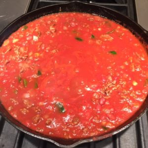 smoky poblano chili