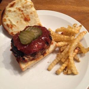 bbq rib burger
