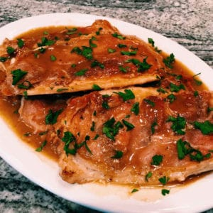 chicken saltimboca