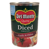 diced tomatoes with onion