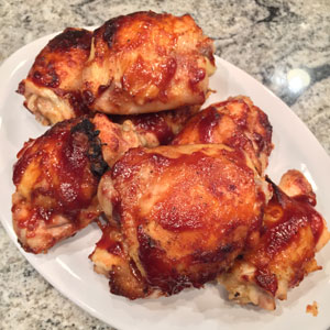 indoor bbq chicken