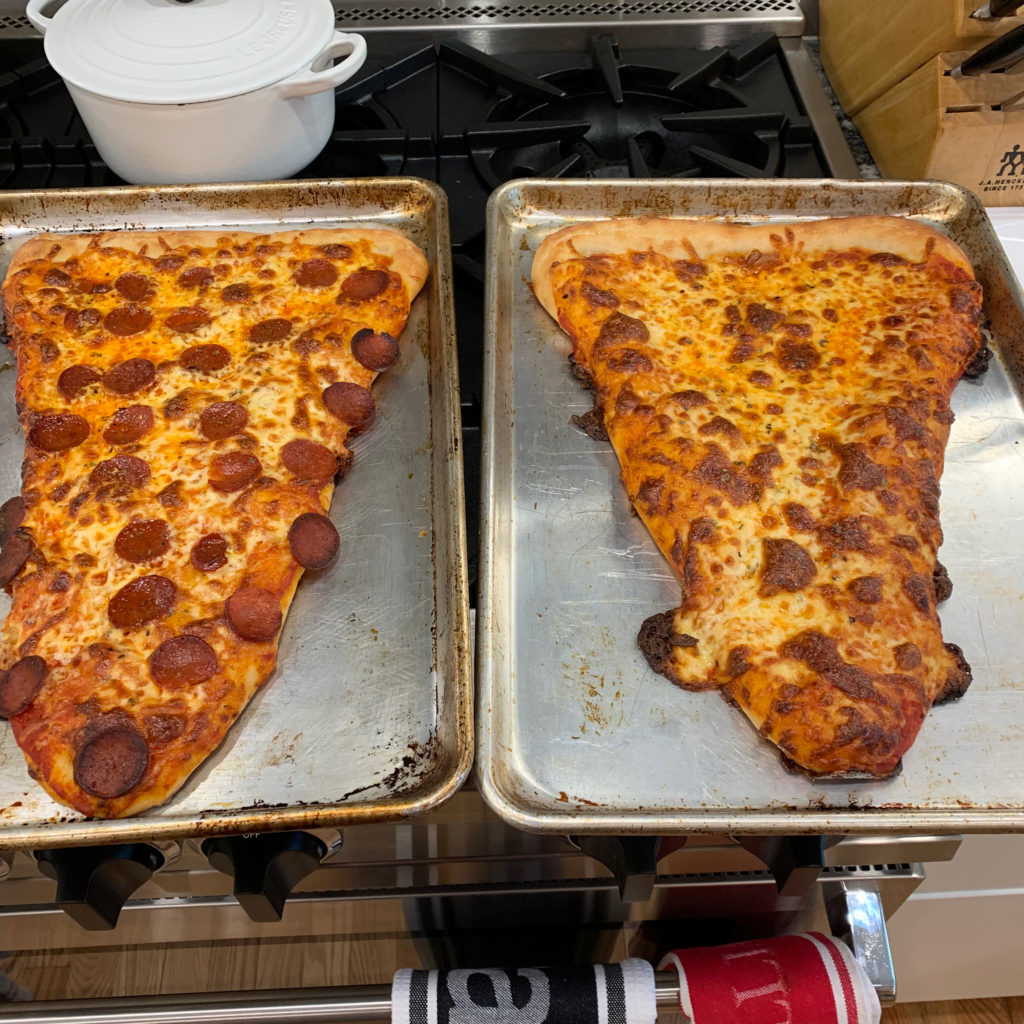 giant pizza slices
