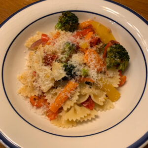 roasted pasta primavera