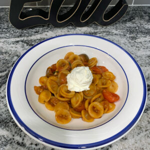 spicy cherry tomato pasta